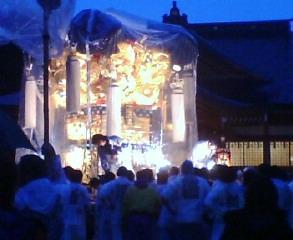 菅生神社の秋祭り