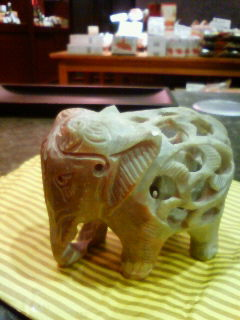 タイのインドのゾウのゾウ