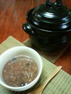 野菜スープの穀物雑炊