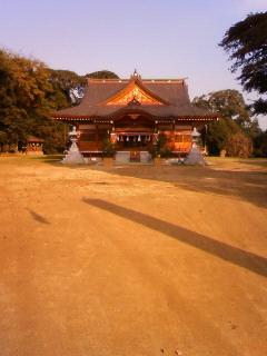 菅生神社参拝