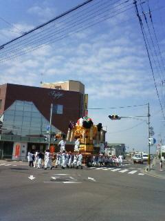 菅生神社秋祭り