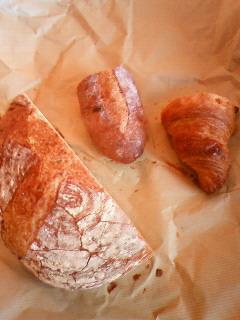 パンが集まる。